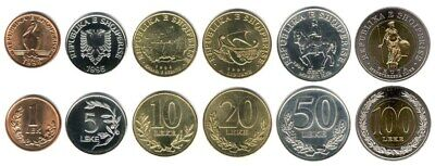 ALBANIA SET COIN UNC - Current in Circulation