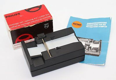 Cine Movie Accessories – Rowi Film Splicer + Philips Splicing  Kit & Cutter box