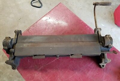 Bar Sheet Metal Bender Bar Folder Sheet Pexto Peck Stow & Wilcox Niagara????