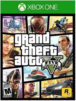 Grand Theft Auto V - Xbox One New and Sealed, Free Expected shipping