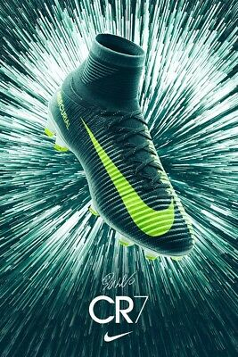 Nike Mercurial Superfly V DF CR7 FG Mens Football Boots UK Size 9 852511 376 NEW