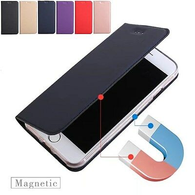 Magnetic Leather Case Flip Card Holder Wallet Cover For iPhone 11 Pro MAX XS XR