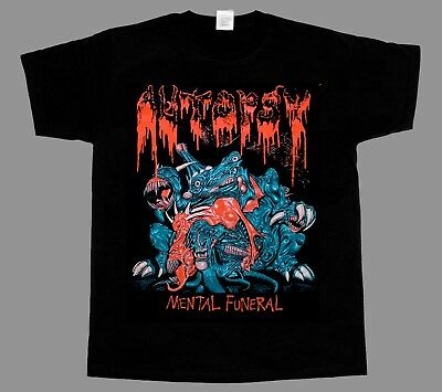 AUTOPSY Severed Survival T-SHIRT ALL SIZE LIMITED Ltd Brand New DEATH METAL