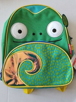 Skip Hop Zoo Toddler Kids Insulated Backpack Cody Chamelon Boy, 12-inches, NEW