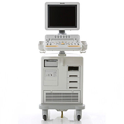 REV3 Philips HD7-XE Ultrasound SYSTEM ONLY Cardiac Vascular Shared Service