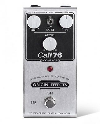 Origin Effects Cali76 Compact Compressor Pedal insured & trackable shipping