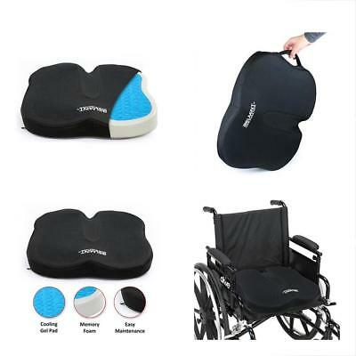 Belmint Coccyx Orthopedic Gel Memory Foam Seat Cushion Helps With Sciatica And &