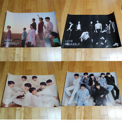 BTS LOVE YOURSELF 轉 Tear Poster Select Option