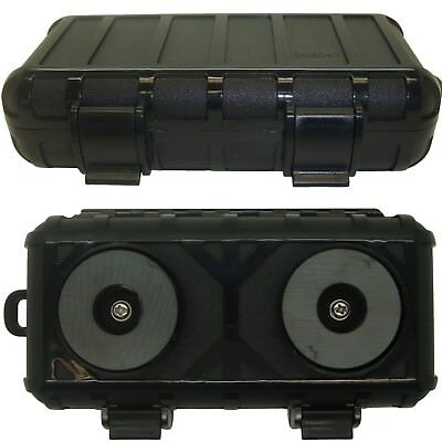 Strong Magnetic Stash Box Container To Hide Keys Tracker Money Under Car Vehicle