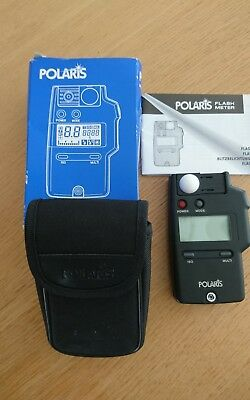 Polaris Flash Meter, Case, Manual, Boxed - Excellent condition