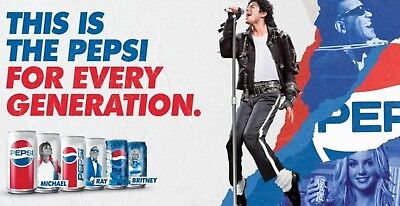 Britney Spears 12 Pepsi cans UNOPENED music generation series 2018 limited ed