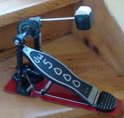 DW 5000 Single Pedal, Einzel Fußmachine - die Legende -