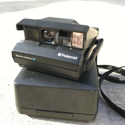 Polaroaid camera Spectra, Film tested, with original box and straps