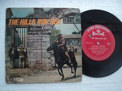ENNIO MORRICONE / Soundtrack  - The Hills run red- Rare JAPAN release EP