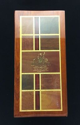 Dewar's Whisky Signature 750Ml Bottle And Wooden Display Case - Nice!!!!