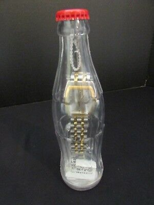 Coca Cola Watch Sealed In Bottle 2002 Collectible! Bank!