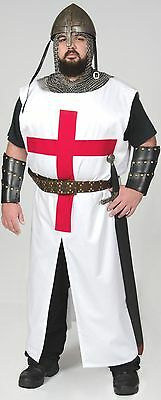 Templar Crusader Knight Tunic Medieval  Latin Cross Warrior Clothes In Stock