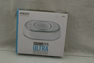 HoMedics SS-6050 Rechargable Sound Soother Sleep Solutions OPEN BOX 13F11 13K23