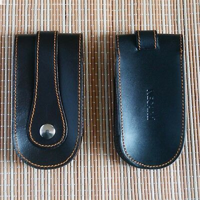 Real Leather Key Case Holder Key Wallet Sleeve Cover Key Ring