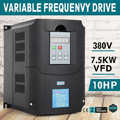 ECO New Single Phase input to 380V 3 Phase Output Frequency Converter VFD VSD