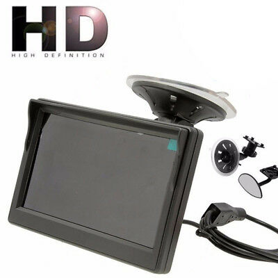 5 Inch TFT LCD HD Screen Monitor For Car Rear Reverse Rearview Backup Camera
