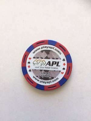 Apl Poker Chip Limited Edition- Queen Of Diamonds