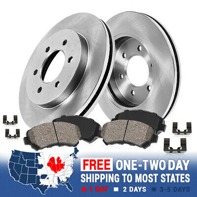 Front Rotors & Ceramic Pads For 2011 Saab 9-4X 2010 2011 - 2015 Cadillac SRX