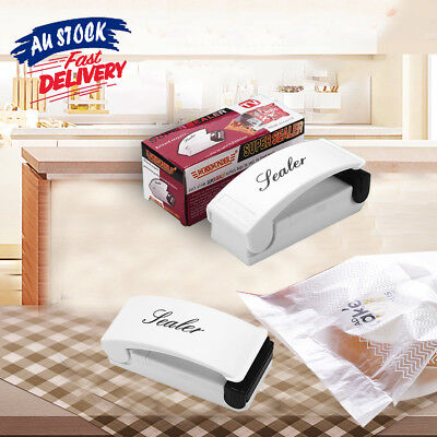 Portable Mini Heat Sealing Machine Impulse Food Packing Plastic Bag Sealer Tool
