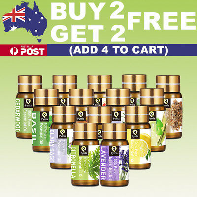 Essential Oil 100% Pure & Natural Aromatherapy Fragrance Essential Oils AU Aroma