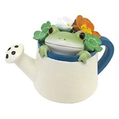 Copeau Frog Watering Can Pot Flower Gardening Mini Figure Figurine Cute Japan