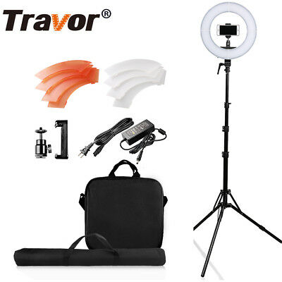 """12"""" 196LED 5500K 45W Dimmable Photography Photo/Studio/Phone/Video Ring Light"""