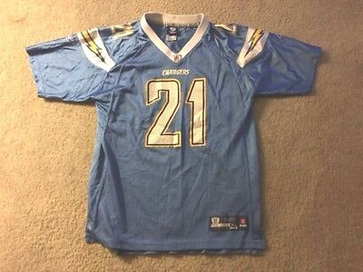 new product c763f 1c1b3 LADAINIAN TOMLINSON JERSEY San Diego Chargers #21 Powder Blue Youth XL 18-20