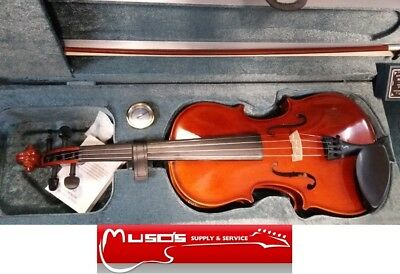 STENTOR - Conservatoire 4/4 violin $529 with Case and Bow +postage