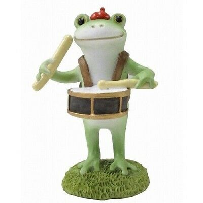 Copeau Frog Drum Music Marching Band Mini Resin Figure Figurine Cute Japan