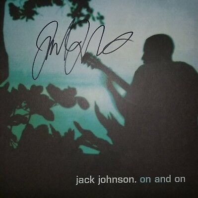 Jack Johnson Signed On and On Album