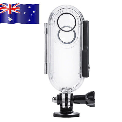 For Insta360 ONE Diving Case Underwater Cover Waterproof Transparent Case AU!!!