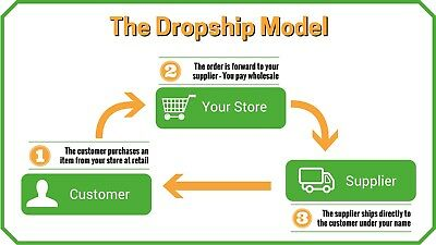 Make Money Drop Shipping Online Business