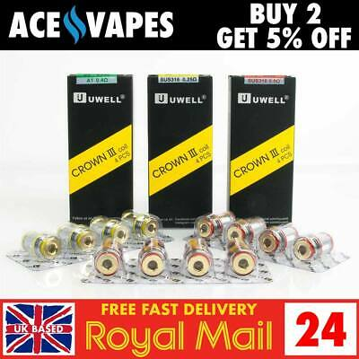 UWELL CROWN III / 3 Spare Replacement Coils Atomizers - New UN2 MESHED Version