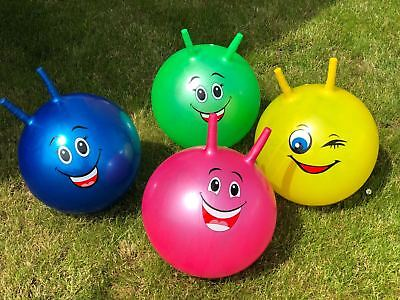 Hopper Jumping Bounce Ball Large Kids Space Indoor/Outdoor Fun Playing Game