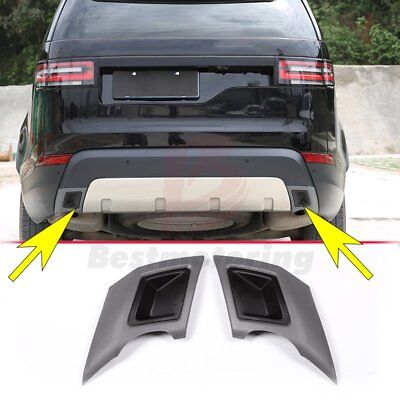 Tail Exhaust Cover Trim For Land Rover Discovery 5 LR5 L462 S SE 2017 2018 ABS