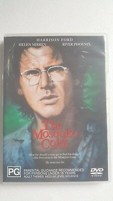 The Mosquito Coast [ DVD ] LIKE NEW, Region 4, FREE Next Day Post from NSW