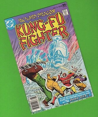 Richard Dragon Kung-Fu Fighter #16 DC Comics The Doom Seer Milgrom Cover 1977