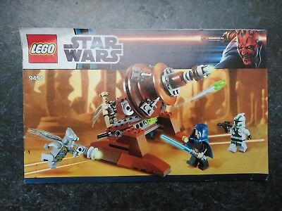 Lego Instructions 9491 Star Wars Geonosian Cannon Manual Only
