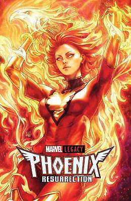 PHOENIX RESURRECTION Jean Grey #1 Artgerm Lau Variant Comic NM 2017