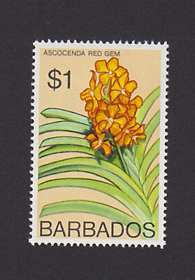 Barbados 408 VF MH Flower