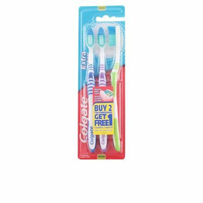 Colgate Extra Clean Medium Toothbrush 3 Units Unisex
