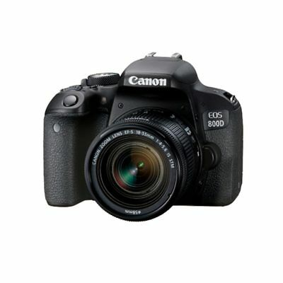 Canon EOS 800D + EF-S 18-55mm f4-5.6 IS STM Black Multi stock from EU nuovo