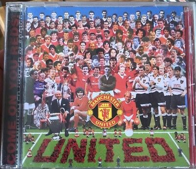 Various Artists - Come on You Reds - 20 Man Utd Classics CD - VGC - FREE UK P+P