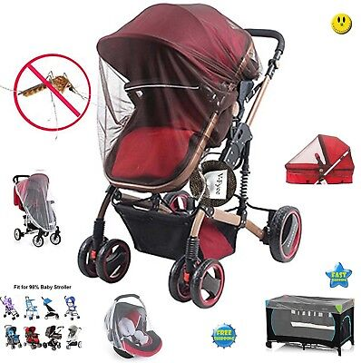 Mosquito net for Stroller, V-FYee Insect Bug Netting for Baby Car Seat, Infan..