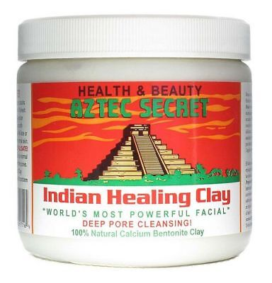 Aztec Secret, Indian Healing Clay Deep Pore Cleansing 100% Natural Calcium
